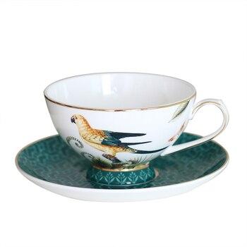 Set de taza de café de hueso de China, juego de Tazas...