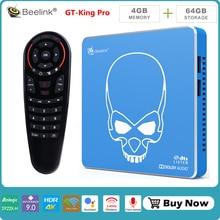 Beelink GT KING PRO S922X-H Quad-core Andriod 9.0 smart top box 4G+64G ROM 2.4G/