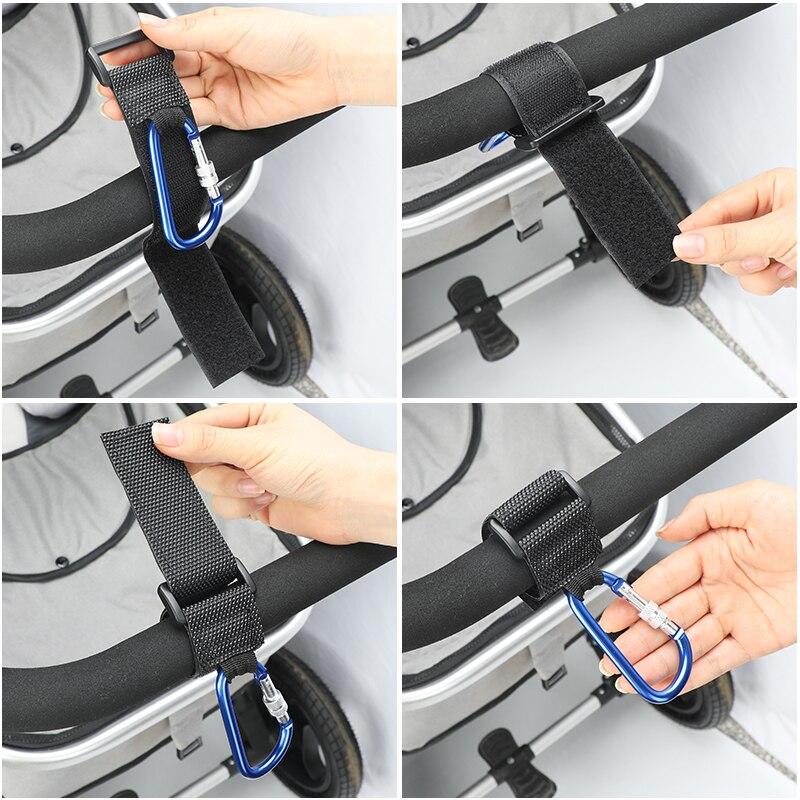 Hotsale Baby Children Pram Stroller Hook Clip Shopping Bag Holder Useful LA