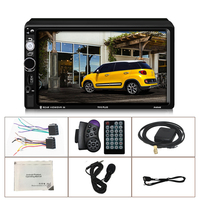 7 Inch 2Din FM Radio Car Navigation Auto MP5 Player Remote Control Touch Screen For Android Multimedia Video Stereo Audio