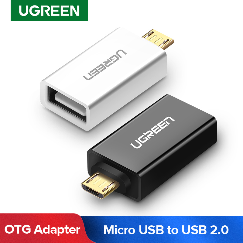Ugreen OTG Micro USB Adapter Micro USB To USB Cable Converters For Xiaomi Redmi Oppo One Plus Samsung OTG Cable For Huawei