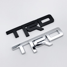 1pcs Car Stickers emblem For Toyota 2017+ ABS TRD Emblem Badge Styling Accessories Racing Logo