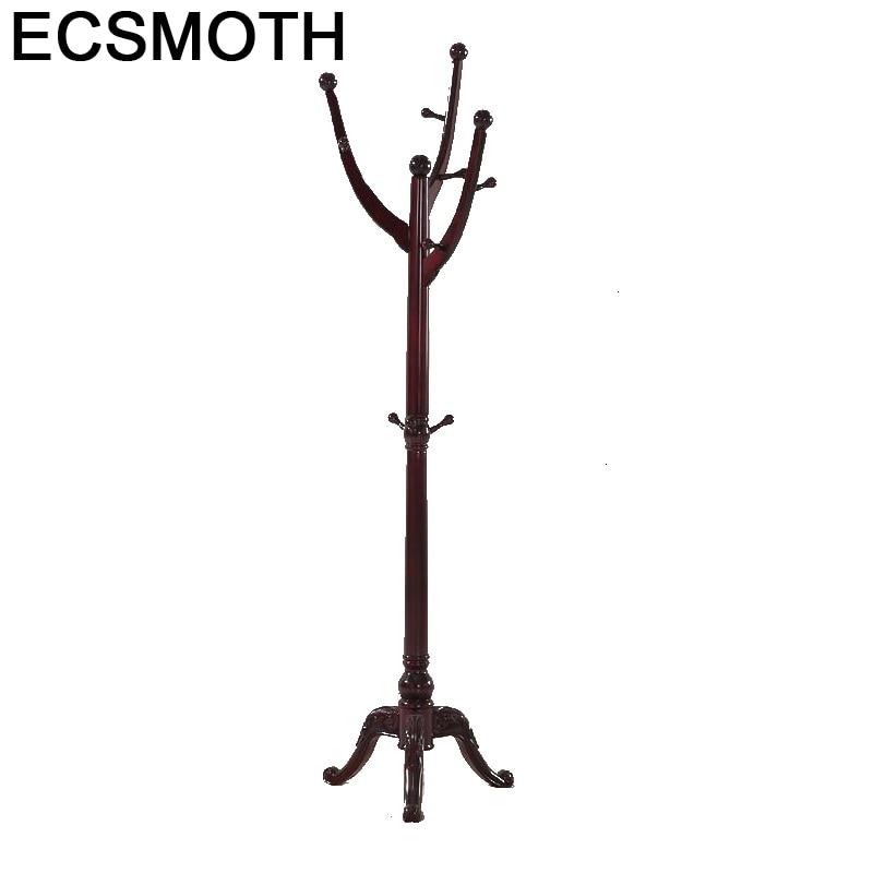 Armario Percha Coat Rack Kledinghangers Hat Stand Armoire Portmanto Wood Wieszak Perchero De Pie Cabide Cintre Clothes Hanger