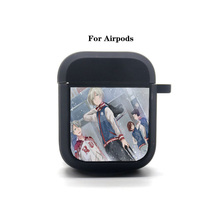 Anime YURI!!! on ICE Cartoon Airpods Case Protective Cover Bluetooth Airpods Headphone case Earphone Soft Silicone Case