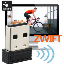Ant + vara usb receptor sem fio para garmin zwift wahoo bkool onelap micro usb dongle formiga adaptador sensor acessórios da bicicleta