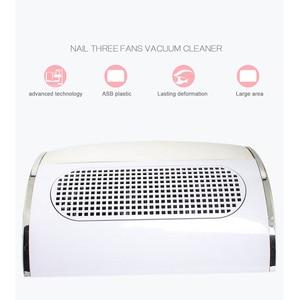 Image 4 - Colector de succión de polvo de uñas potente con 3 ventiladores, aspiradora poco ruidosa, herramientas de manicura con 2 bolsas colectoras de polvo, Nail Master