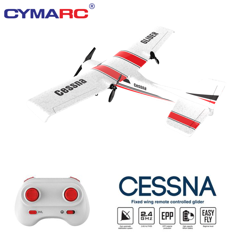 Z53 RC Plane EPP Foam Glider RC Airplane Gyro 2.4G 2CH Remote Control Wingspan Cessna 182T Electric Outdoor Fixed Wing Aircraft image