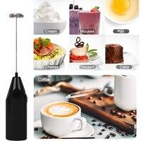 Herramientas para hornear de accesorios de cocina de agitador portátil MEZCLADOR PARA café, leche y bebidas mezclador eléctrico batidor de huevos