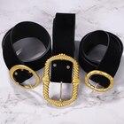 Gold velvet belt 202...