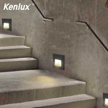 12pcs 3w free shiping ip67 outdoor waterproof round led step lights led underground light dc12v led deck lights 4pcs Led stair light  3W 58*58mm/3W 86*86mm Led Step lights AC85-265V Aluminum outdoor & indoor waterproof foot light night lamp