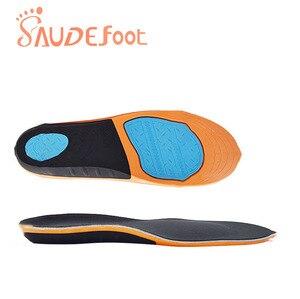 Image 5 - Saudefoot Shoe Insole Sneakers Cushion PU Damping Glue Ultra fine Velvet  Absorbing Memory Foam Increased Flexible Soft Shoe pad