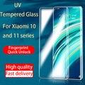 УФ закаленное стекло для Xiaomi Mi 10 Pro Ultra Mi 11 Pro Note10 Pro полная Жидкостная защита для экрана для Xiaomi 10 11 Note10 Pro стекло