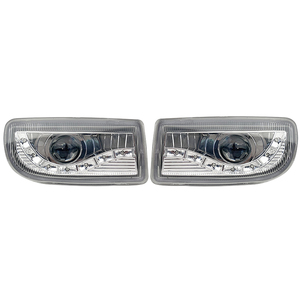 Image 5 - A pair Modified front fog lamp For Toyota Land Cruiser Fj100 Front Bumper lamp Daytime Running Light With Lens