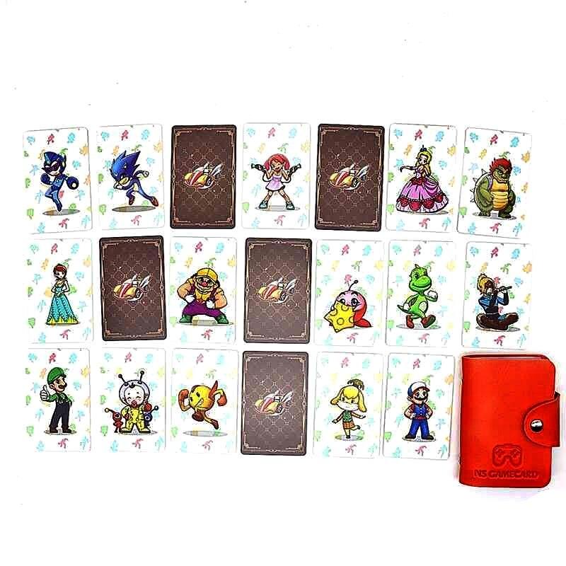 Купить новый 20 штук марио 8 nfc игровые карты тег ntag215 для чтения