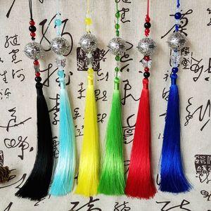 Аниме брелок для женщин, магистр демонического культивирования GongLing длинные кисточки колокольчики на талии, висящий металлический Mo Dao Zu Shi Palace Bell