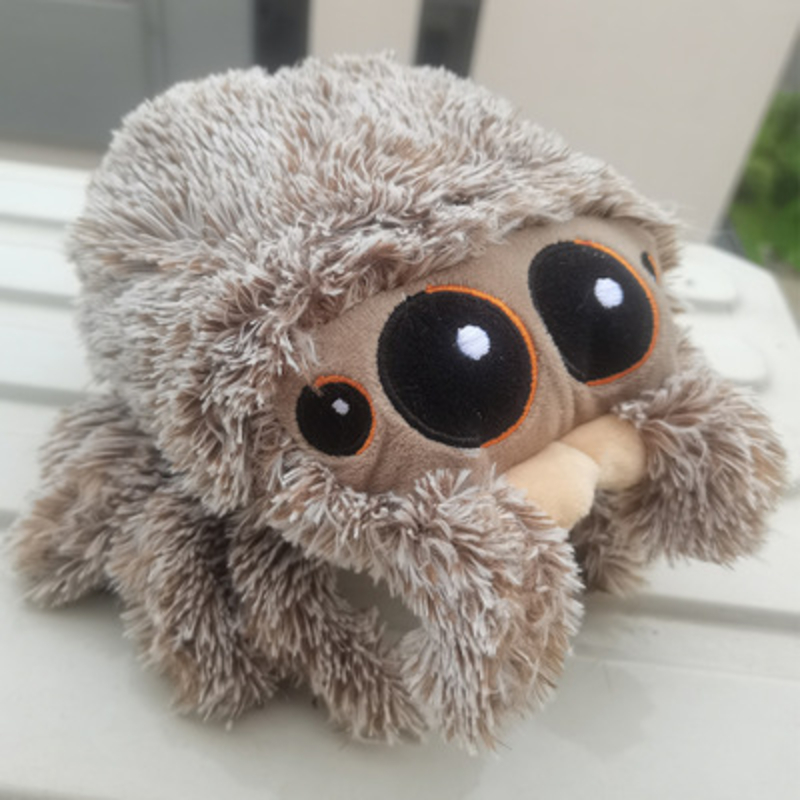 Anime Lucas The Spider 1st Edition Plush Toy Soft Stuffed Doll Spider Model Gift