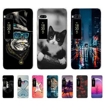 Перейти на Алиэкспресс и купить Чехол для телефона Meizu pro 7 plus 16th, мягкий силиконовый чехол из ТПУ для Meizu pro 7 plus c9, чехол-бампер, fundas coque