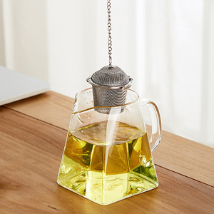 Image 3 - Colador de té de acero inoxidable con bloqueo, Infusor de té, Bola de té de malla, condimento, hierbas, especias, bola, colador, accesorios de cocina