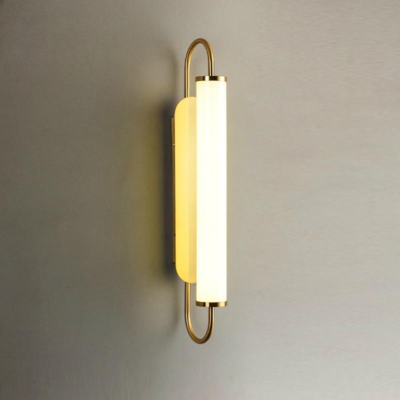 moderno led lampadas de parede vidro luminaria luxo interior arandela luz quarto sala estar corredor decoracao