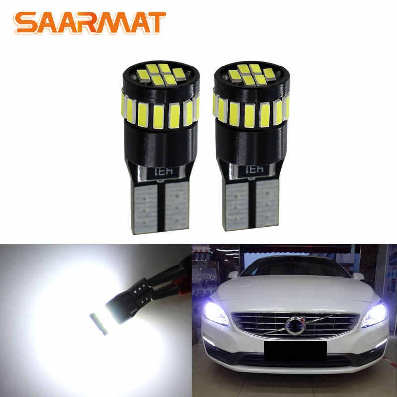 LED iluminación de la matrícula volvo c30 s40 v50 s60 s80 v70 xc60 xc70 xc90 501