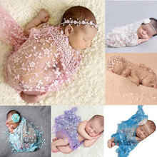 Blanket Carpet Baby Prop-Outfits Photography-Prop Embroidery Lace Fotografie Polyester-Fiber