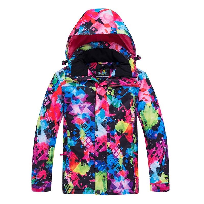 Ski Jackets Children Waterproof Warm Girls Boy Snow Jacket Winter Skiing Jackets Hiking Snowboarding Clothes Child Outdoor Coat