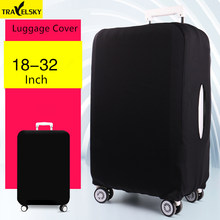 Upgrade Elastic travel luggage covers Protective Suitcase cover Trolley case wear-resistant thickening dust cover for 18-24inch(China)
