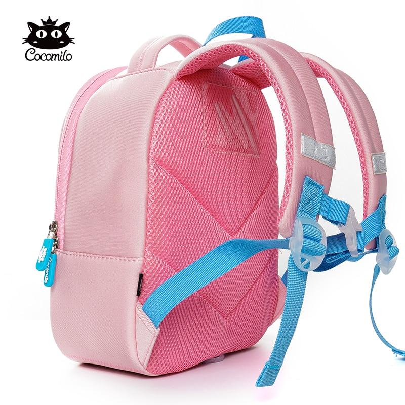 Kids Baby Cartoon Elephant Shoulder School Bags Kindergarten Backpack Toddler