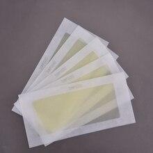10pcs/lot Hair Removal Wax Strips Roll Underarm Wax Strip Paper Beauty Tool