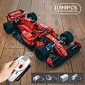 Creator Expert известный RSR Супер гоночный автомобиль F1 GTE спортивные строительные блоки для автомобилей, Мпц модель модульный кирпичи технически...