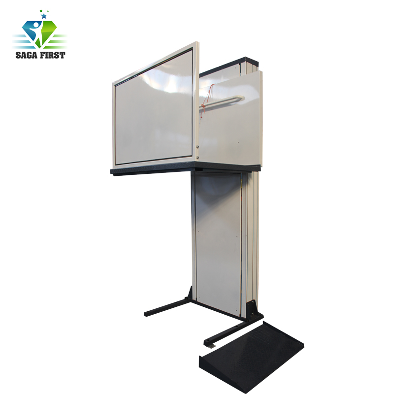 2m To 8m CE Approved Vertical Elevator Lift For Elderly Disabled People