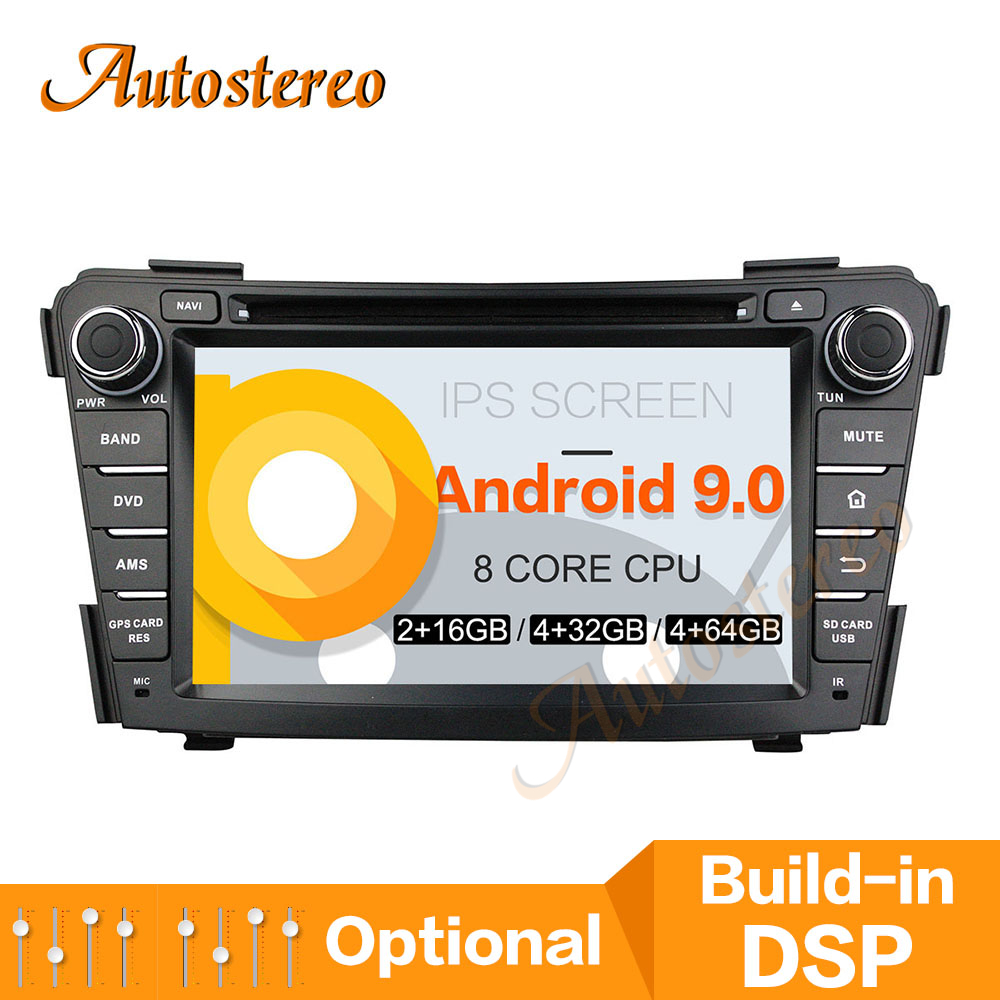 Android9 PX5/PX6 Car CD DVD Player <font><b>GPS</b></font> Navigation For <font><b>HYUNDAI</b></font> <font><b>I40</b></font> 2011-2016 Auto Radio Stereo Head Unit Multimedia Player DSP image