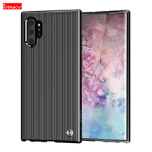 For Samsung Galaxy Note 10 Plus Case Soft Silicon Rubber Shockproof Back Cover 10+ Phone Cases