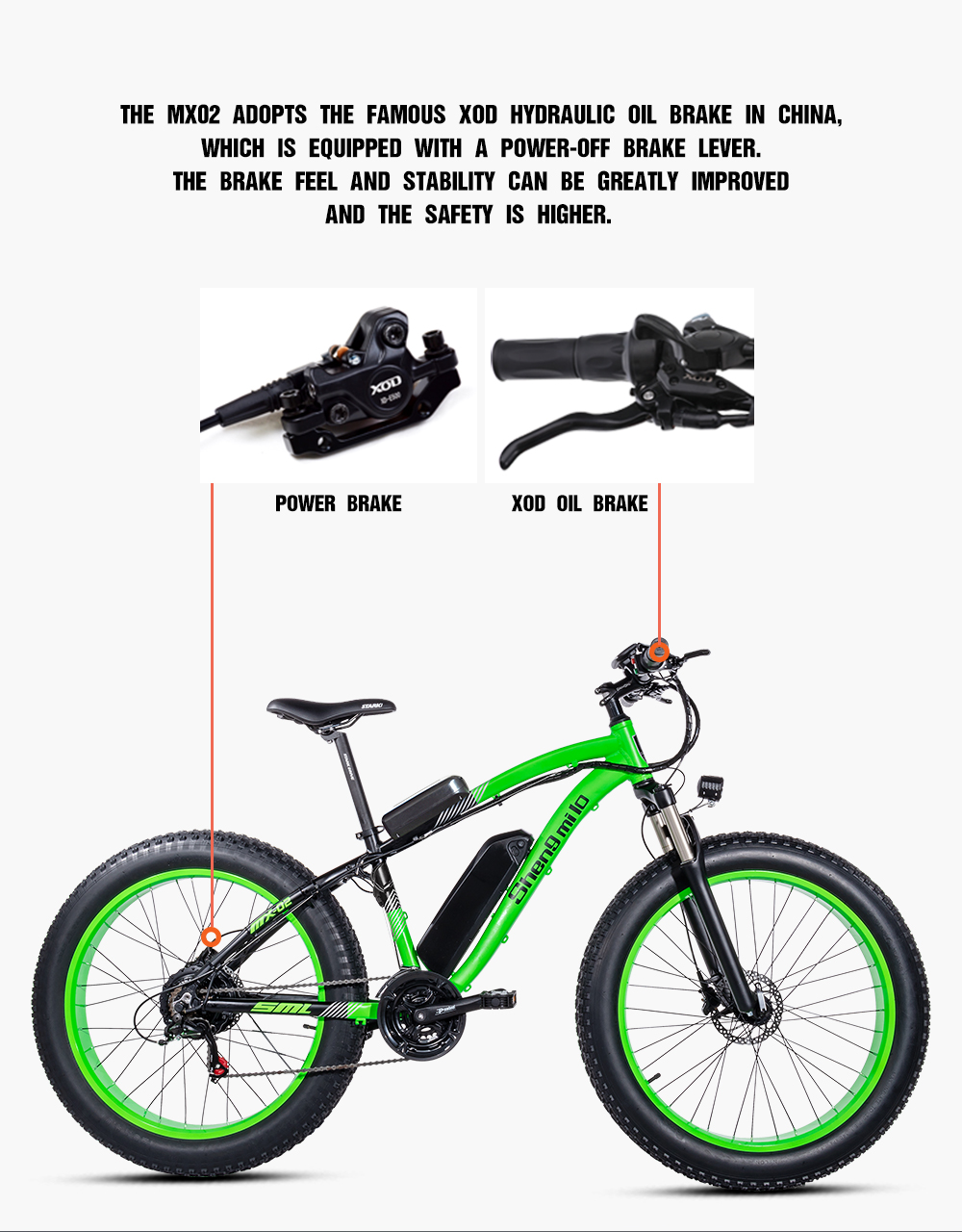 Electric bike 26*4.0inch Aluminum electric Bicycle 48V17A 1000W 40KM/H 6Speed Powerful Fat Tire bike Mountain snow ebike