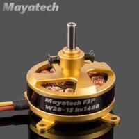 Mayatech W2815 Brushless Hollow Shaft Motor F3P 4D 2204 KV1800/1480kv
