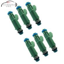 6 Pcs/ lot High Performance Fuel Injector Nozzle For Jaguar 2001-2008 X-Type 2.5 3.0 V-6 1X43-AB 1X43AB 1X43 AB 4.5 10pcs lot richtek rt9365pqw rt9365 ab eg ab ej ab ec qfn 16