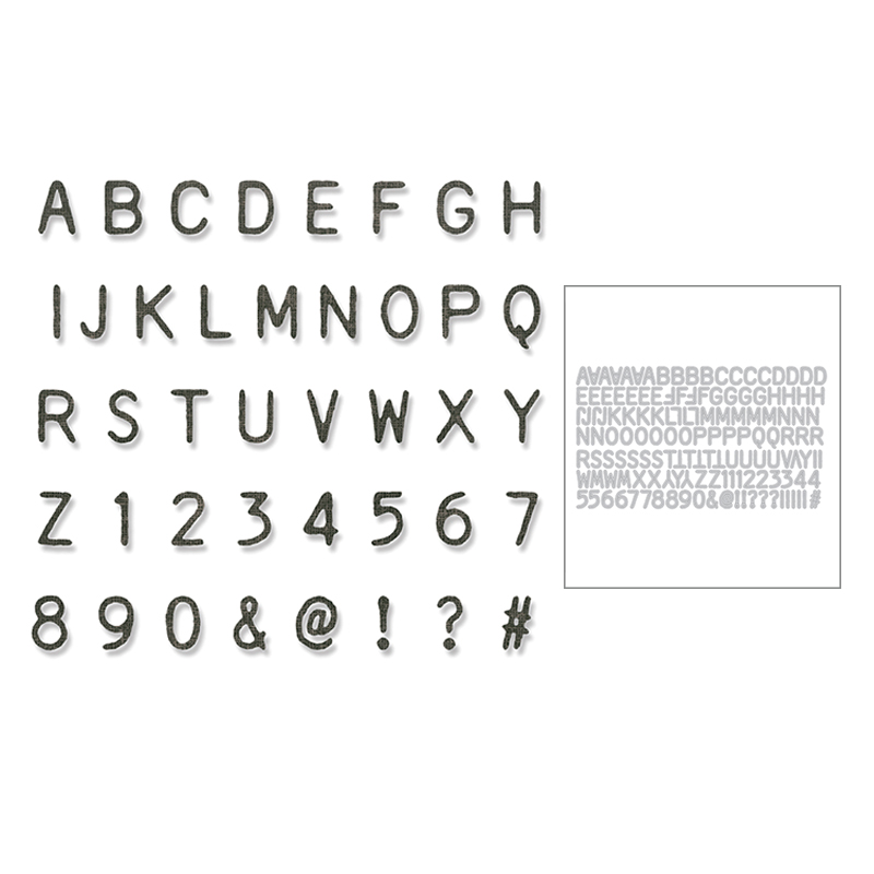 2020 New Hot Alphabet Number Metal Cutting Dies Stencils And Scrapbooking Paper For Foil 26 Letter Word Die Cut Crafts No Stamp