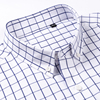 Standard-Fit Short Sleeve Plaid Checked Shirts 2