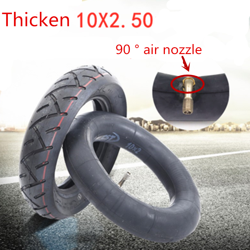 Electric Scooter 10 Inch Tire 10 × 2.5 / 2.25 Positive New Inflatable Inner And Outer Tube Wear-resistant Thick Inner Tube Outer