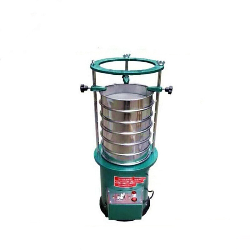 Sieve Shaker 220V For Sieve Diameter 20cm Electric Vibrating Sieve Machine With Timing Function Screening Machine