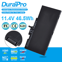 Durapro cs03xl bateria de laptop 11.4v 46.5wh  para hp elitebook 745 g3 840 g2 g3 850 g3 g4 zbook 15u série g3 g4 mt43