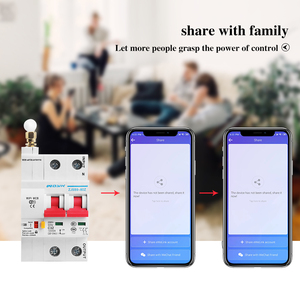 Image 5 - 2P WiFi Smart Circuit Breaker Automatic Switch overload short circuit protection with Amazon Alexa Google home for Smart Home