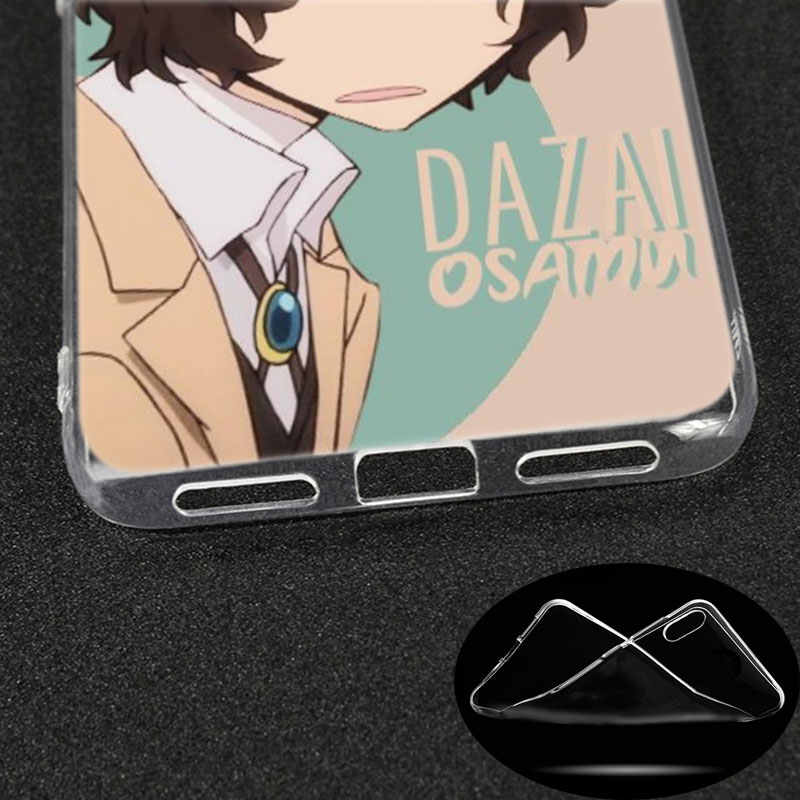 Silicone Case Anime Bungou Anjing Liar Dazai Osamu untuk Xiaomi Redmi K20 Pro 7 7A 6 6A 4X5 plus S2 Go CATATAN 8 7 6 5 Pro 4