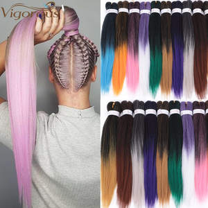 Vigorous Jumbo Braids Hair Hair-Extensions Crochet Braiding-Hair-20inches Easy Synthetic