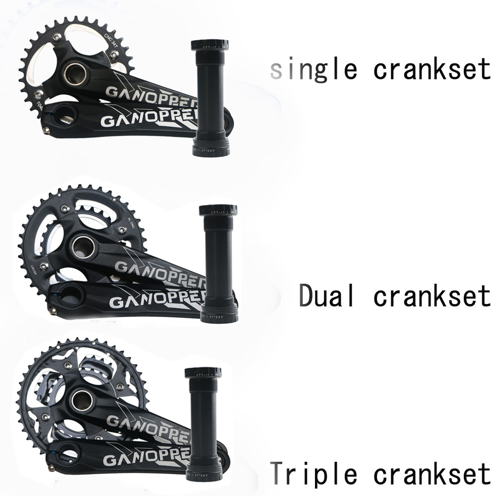 175mm Arm length Fatbike Fat bike crank set 120mm 104mm 104BCD Crankset  Chainwheel 22T 26T 30T 32T 36T Narrow Wide Chainring