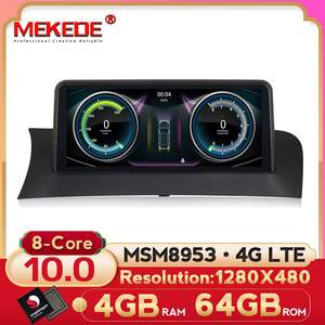 MEKEDE Android 10 ID7 8 core CAR DVD FOR BMW X3 F25, X4 F26 CIC/NBT player audio stereo Multimedia GPS stereo monitor ips screen