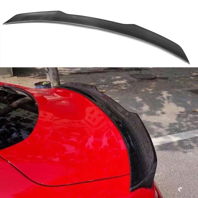 Zadní blatník zadní části kufru Mustang z uhlíkových vláken pro Ford Mustang Coupe 2015 ~ 2017