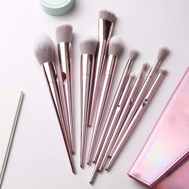 MB02 special designed Popular Eyebrow Eyeshadow Makeup brushes Set easy hold 1