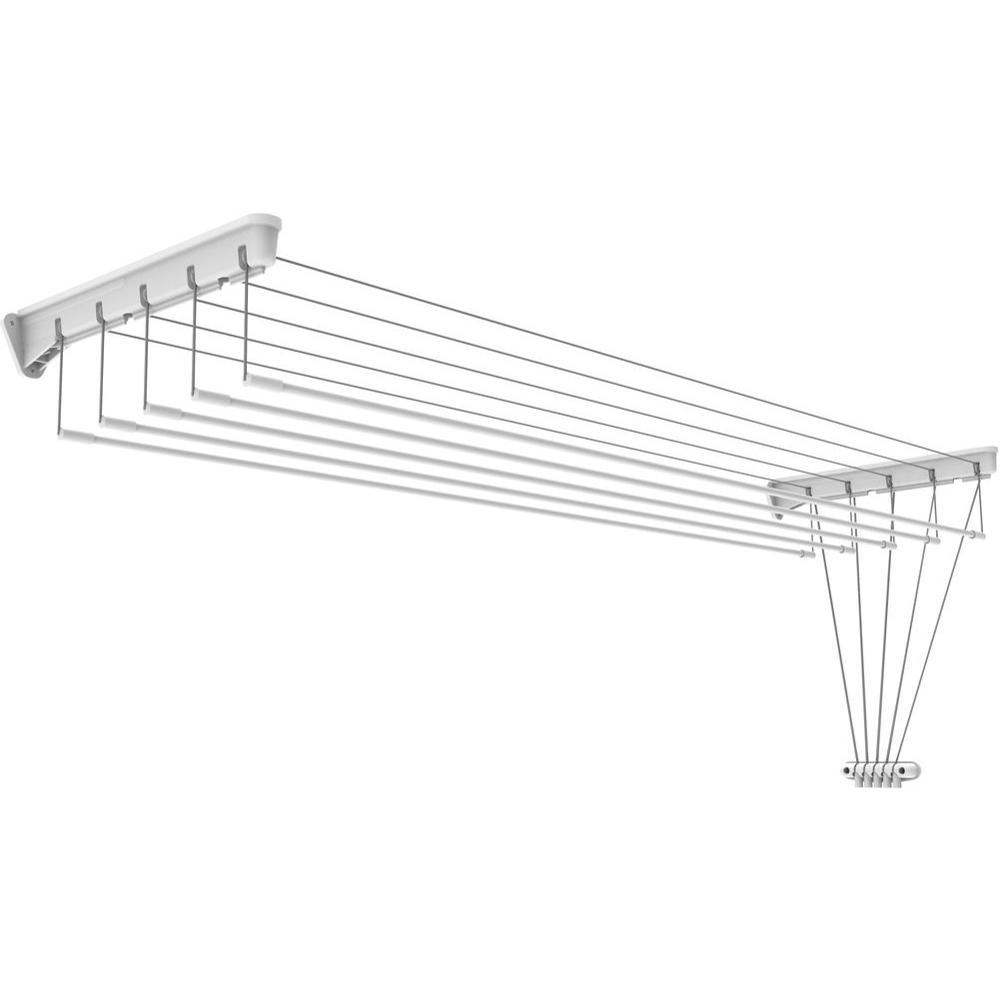 Clothes Rack Stainless Steel Wall Mounted Collapsible Laundry Folding Clothes Drying Rack Hangers For Clothes Space Saver