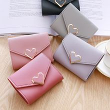 NEW Leather Women Wallet Hasp Small Coin Pocket Purse